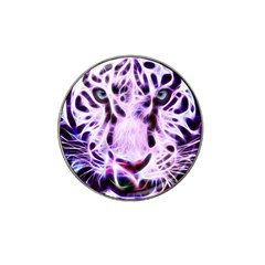 Fractal Wire White Tiger Hat Clip Ball Marker