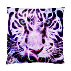 Fractal Wire White Tiger Standard Cushion Case (one Side)