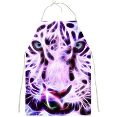 Fractal Wire White Tiger Full Print Aprons