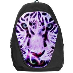 Fractal Wire White Tiger Backpack Bag