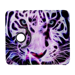 Fractal Wire White Tiger Galaxy S3 (Flip/Folio)
