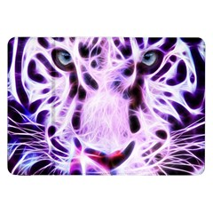 Fractal Wire White Tiger Samsung Galaxy Tab 8.9  P7300 Flip Case