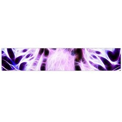 Fractal Wire White Tiger Flano Scarf (Large)