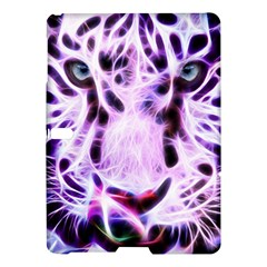 Fractal Wire White Tiger Samsung Galaxy Tab S (10 5 ) Hardshell Case