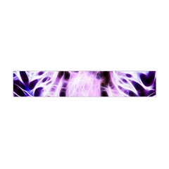 Fractal Wire White Tiger Flano Scarf (Mini)