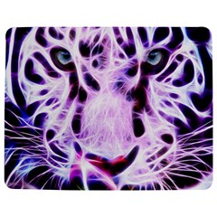 Fractal Wire White Tiger Jigsaw Puzzle Photo Stand (Rectangular)