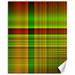 Multicoloured Background Pattern Canvas 16  X 20