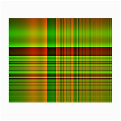 Multicoloured Background Pattern Small Glasses Cloth (2-Side)