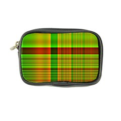 Multicoloured Background Pattern Coin Purse