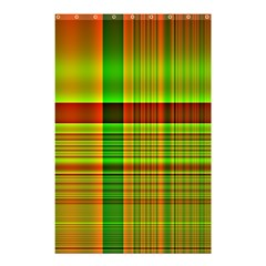 Multicoloured Background Pattern Shower Curtain 48  x 72  (Small)