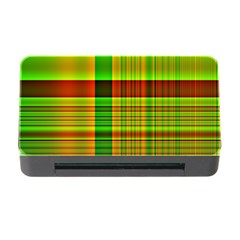 Multicoloured Background Pattern Memory Card Reader With Cf