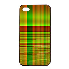 Multicoloured Background Pattern Apple iPhone 4/4s Seamless Case (Black)
