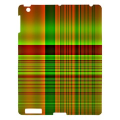 Multicoloured Background Pattern Apple iPad 3/4 Hardshell Case