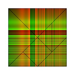 Multicoloured Background Pattern Acrylic Tangram Puzzle (6  x 6 )