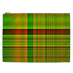 Multicoloured Background Pattern Cosmetic Bag (XXL)