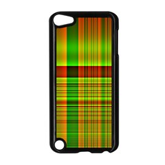 Multicoloured Background Pattern Apple iPod Touch 5 Case (Black)