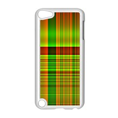 Multicoloured Background Pattern Apple iPod Touch 5 Case (White)