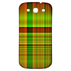 Multicoloured Background Pattern Samsung Galaxy S3 S III Classic Hardshell Back Case