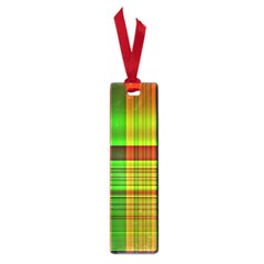Multicoloured Background Pattern Small Book Marks