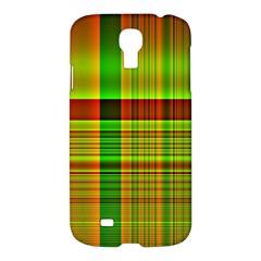 Multicoloured Background Pattern Samsung Galaxy S4 I9500/I9505 Hardshell Case