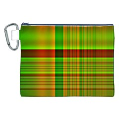 Multicoloured Background Pattern Canvas Cosmetic Bag (XXL)