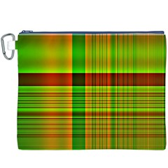 Multicoloured Background Pattern Canvas Cosmetic Bag (XXXL)