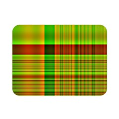 Multicoloured Background Pattern Double Sided Flano Blanket (mini)