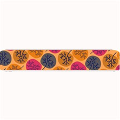 Colorful Trees Background Pattern Small Bar Mats