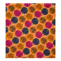 Colorful Trees Background Pattern Shower Curtain 66  X 72  (large)