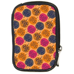 Colorful Trees Background Pattern Compact Camera Cases