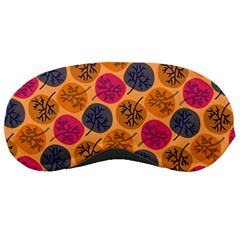 Colorful Trees Background Pattern Sleeping Masks