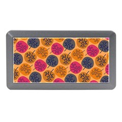 Colorful Trees Background Pattern Memory Card Reader (Mini)