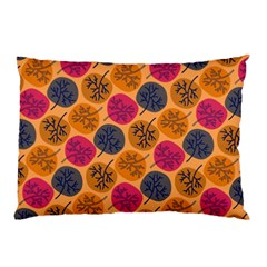Colorful Trees Background Pattern Pillow Case (two Sides)