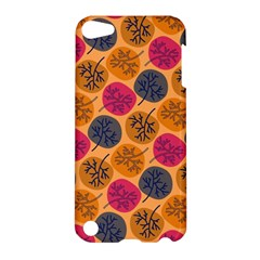 Colorful Trees Background Pattern Apple iPod Touch 5 Hardshell Case