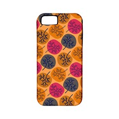 Colorful Trees Background Pattern Apple iPhone 5 Classic Hardshell Case (PC+Silicone)