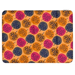 Colorful Trees Background Pattern Samsung Galaxy Tab 7  P1000 Flip Case