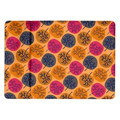 Colorful Trees Background Pattern Samsung Galaxy Tab 10.1  P7500 Flip Case