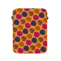Colorful Trees Background Pattern Apple iPad 2/3/4 Protective Soft Cases