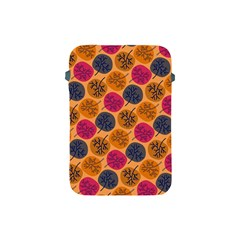 Colorful Trees Background Pattern Apple iPad Mini Protective Soft Cases
