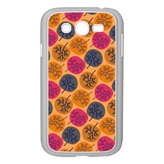 Colorful Trees Background Pattern Samsung Galaxy Grand DUOS I9082 Case (White)