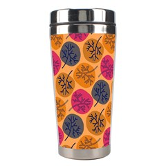 Colorful Trees Background Pattern Stainless Steel Travel Tumblers