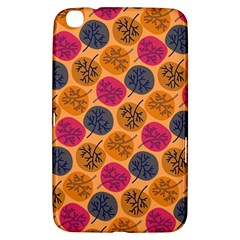 Colorful Trees Background Pattern Samsung Galaxy Tab 3 (8 ) T3100 Hardshell Case