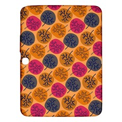 Colorful Trees Background Pattern Samsung Galaxy Tab 3 (10.1 ) P5200 Hardshell Case