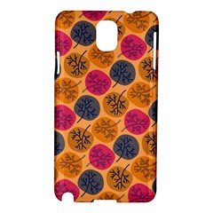 Colorful Trees Background Pattern Samsung Galaxy Note 3 N9005 Hardshell Case