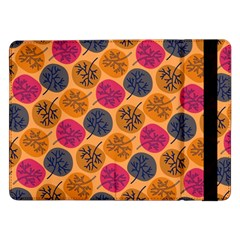 Colorful Trees Background Pattern Samsung Galaxy Tab Pro 12.2  Flip Case
