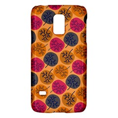 Colorful Trees Background Pattern Galaxy S5 Mini