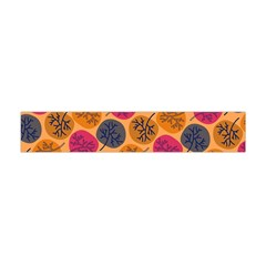 Colorful Trees Background Pattern Flano Scarf (mini)