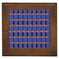 Abstract Lines Seamless Pattern Framed Tiles