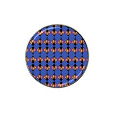 Abstract Lines Seamless Pattern Hat Clip Ball Marker (10 Pack)