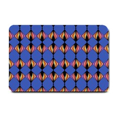 Abstract Lines Seamless Pattern Small Doormat